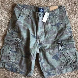 Camo Cargo Shorts American Eagle
